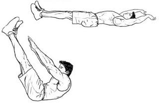 7 latihan membentuk sixpack 1