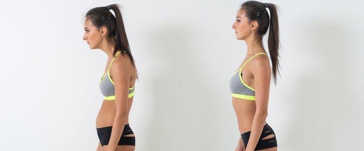 Mengecilkan perut dengan memperbaiki postur