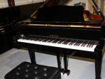 BABY GRAND PIANO HITAM KAWAI kg-1c